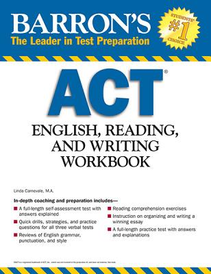 Barron's Act English, Reading and Writing By Carnevale, Linda